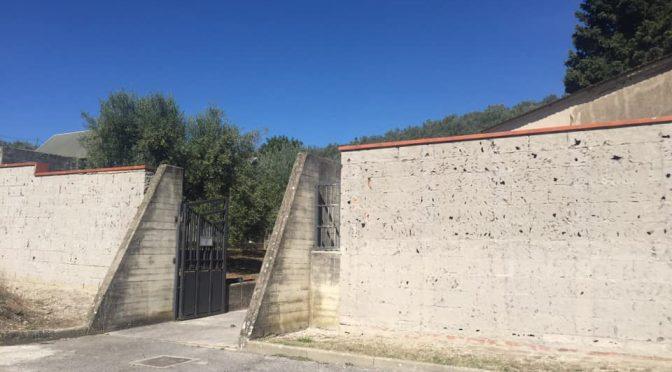 Cimitero di Poggio alla Malva, al via i lavori di manutenzione straordinaria