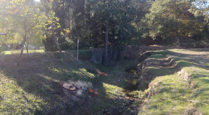 Torrente Elzana, al via i lavori di manutenzione e bonifica del corso d'acqua