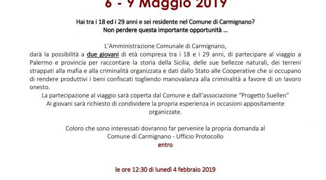 Viaggio della legalità in Sicilia: un'opportunità per i giovani