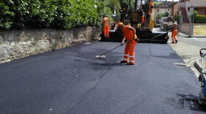 Lavori pubblici, al via da lunedì l'asfaltatura di alcune strade di Seano