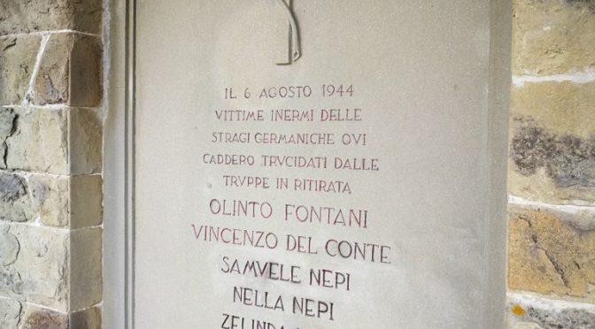 Carmignano ricorda i cinque martiri di Artimino