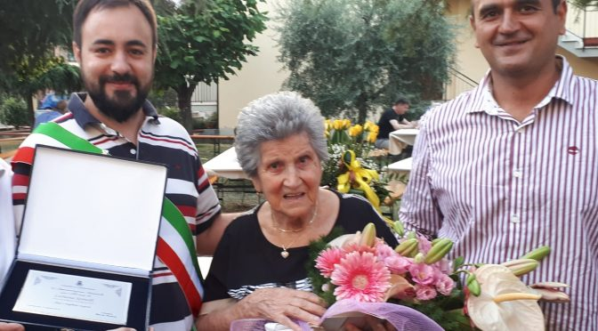 Una nuova centenaria a Carmignano