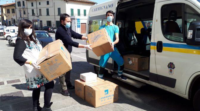 Mascherine a tutti i cittadini di Carmignano, ecco come verranno distribuite