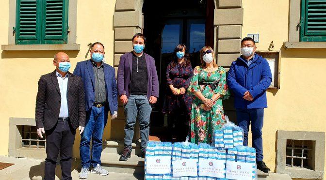 L'associazione Ruian del Centro Italia ha donato 5.000 mascherine