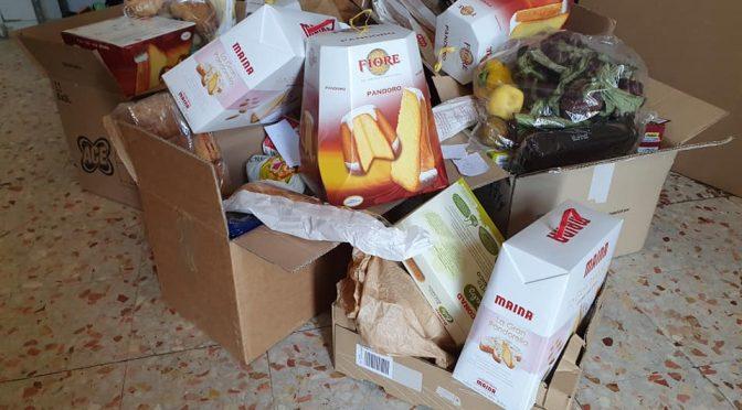 Spesa sospesa, iniziata la distribuzione dei prodotti