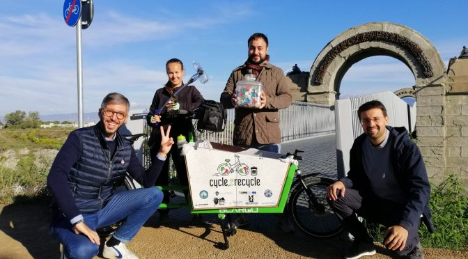 Cycle2recycle: in bici contro la plastica