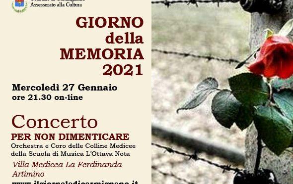 """Giorno della Memoria: un Concerto """"Per non dimenticare"""""""