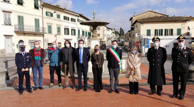 Visita del nuovo Prefetto a Carmignano