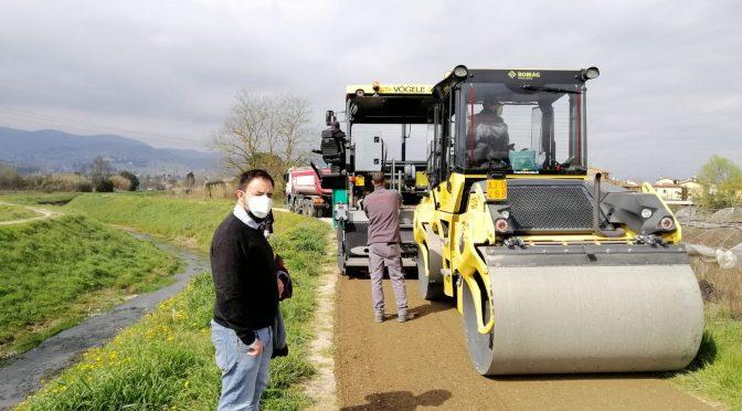 Torrente Furba: risanamento della frana e lavori alla pista ciclopedonale