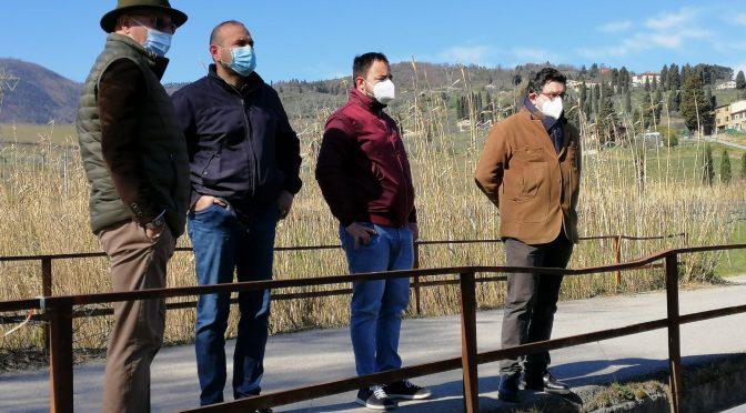 Sopralluogo con il Consorzio di Bonifica: in estate i lavori sul torrente Furba