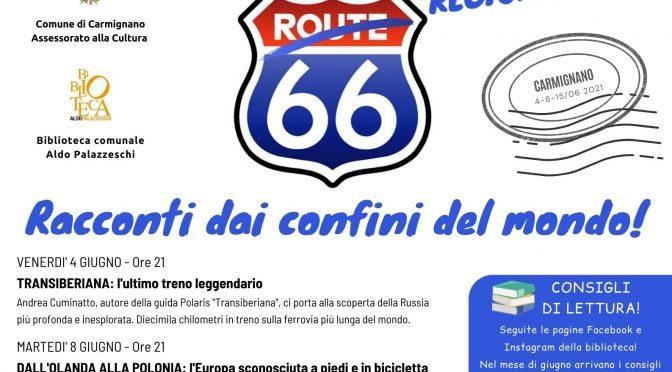 """Arriva """"Regionale 66"""", la rassegna sui viaggi alla biblioteca comunale"""