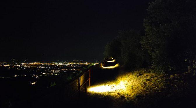 Rocca aperta h24 con la nuova illuminazione